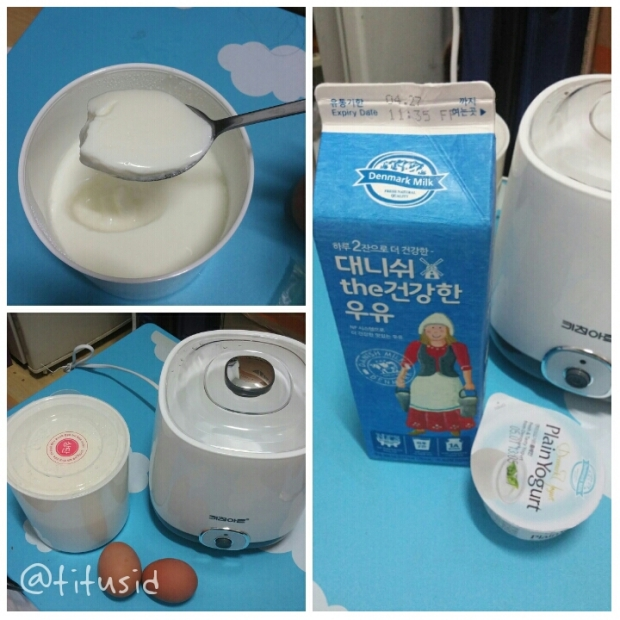 My First Korean Homemade Yogurt :D